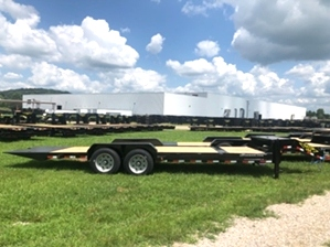 14k Tilt Bed Bobcat Trailer